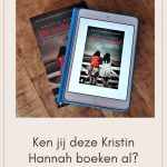 Kristin Hannah boeken op volgorde