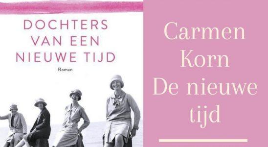 Carmen Korn serie De nieuwe tijd op volgorde