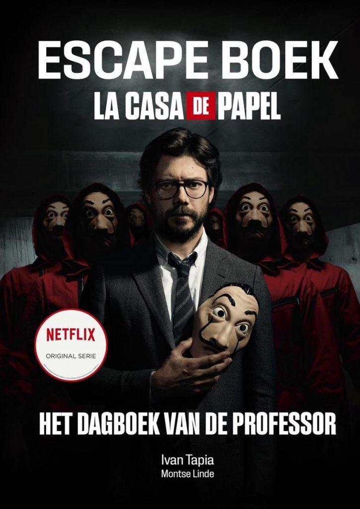 La Casa de Papel escapeboek - Het dagboek van de professor