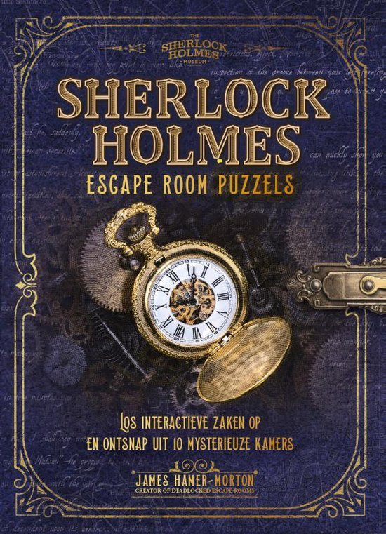 Sherlock Holmes Escaperoom Puzzels